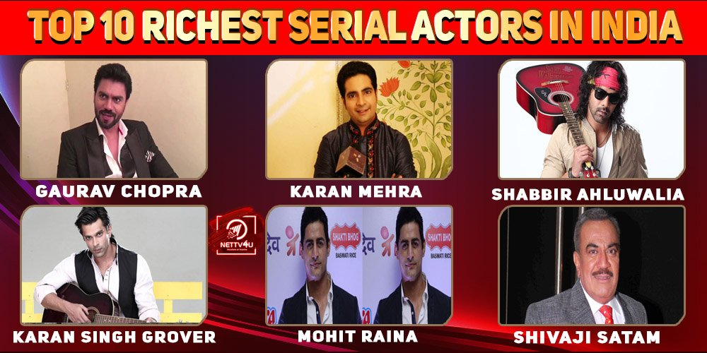 Top 10 Richest Serial Actors In India