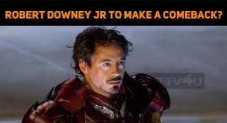 Robert Downey Jr To Make A Comeback?