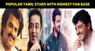 Top 10 Most Popular Tamil Actors With The Highest Fan Base