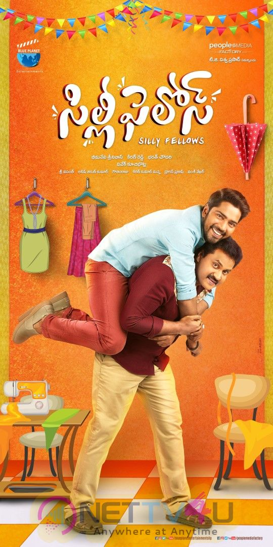 Silly Fellows Movie Posters Telugu Gallery