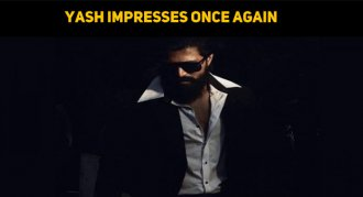 Yash Impresses His Fans Once Again!