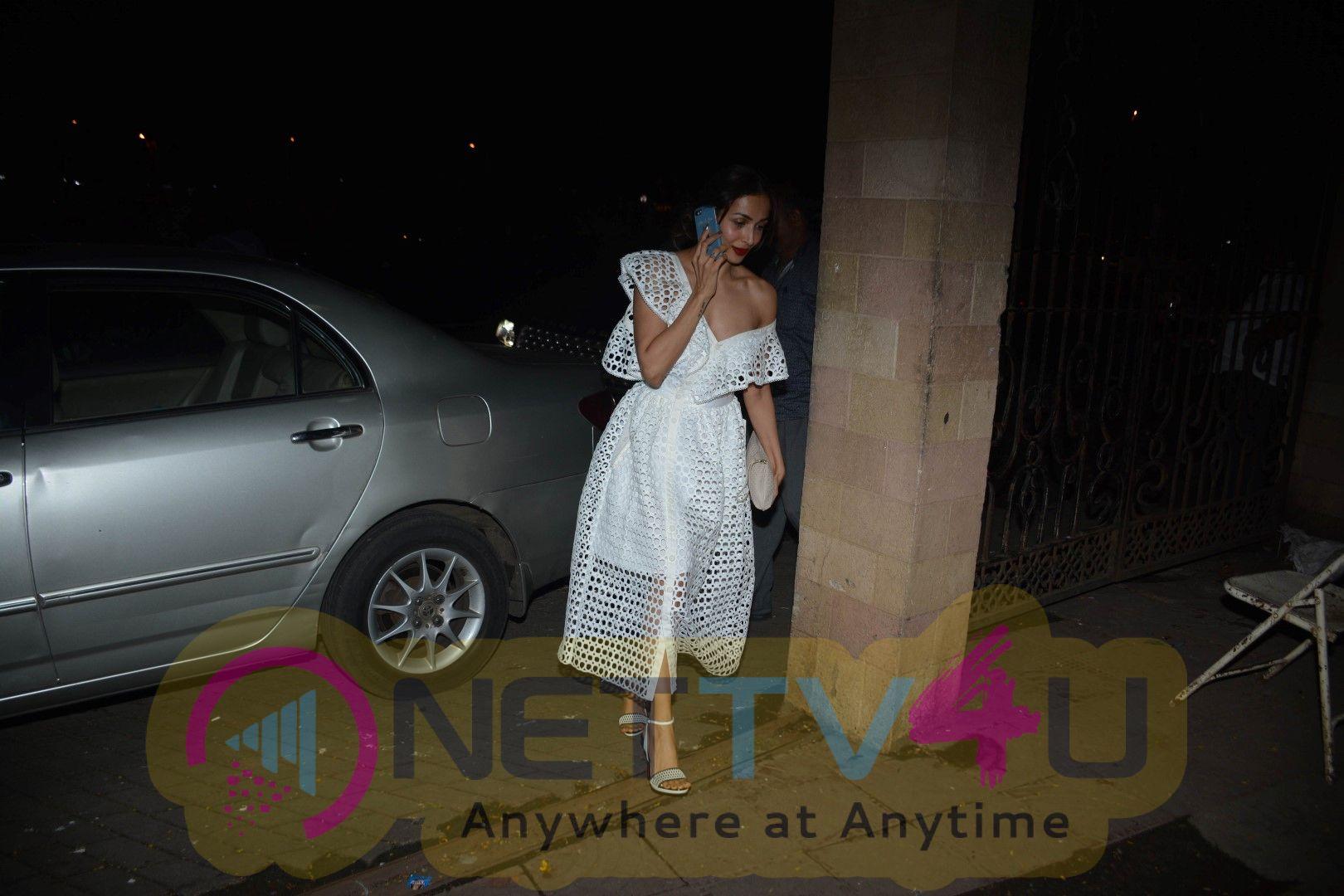 Malaika Arora's Mother's Birthday Party In Bandra Pics Hindi Gallery