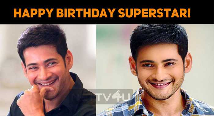 Happy Birthday, Superstar Mahesh Babu!
