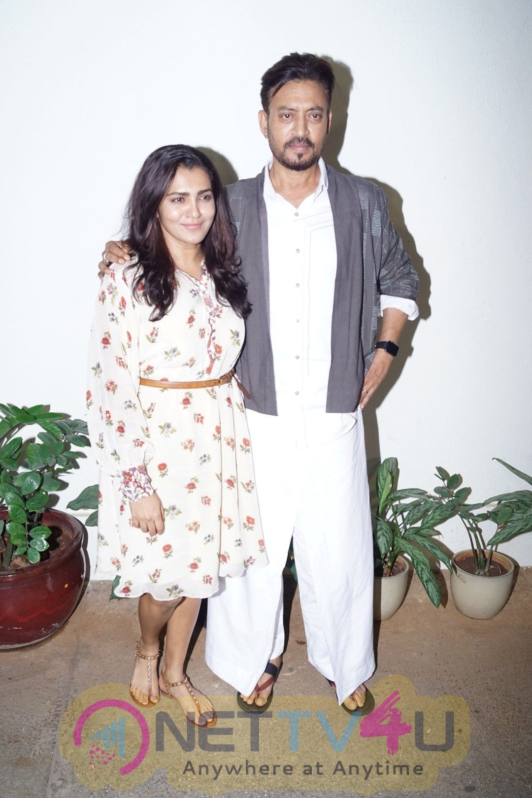 Irrfan Khan At Special Screening Of Film Qarib Qarib Singlle Pics Hindi Gallery