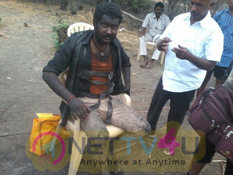 Kalathur Gramam Tamil Movie Shooting Spot Stills Tamil Gallery