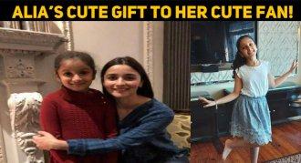Alia Bhatt's Cute Gift To Her Cute Little Fan!