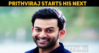 Prithviraj's Next Film Started Rolling!