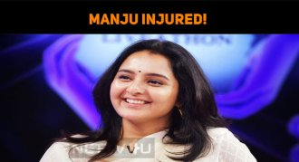 Accident In Chathurmukham Sets! Manju Injured!