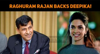 Former RBI Governor Raghuram Rajan Backs Deepik..