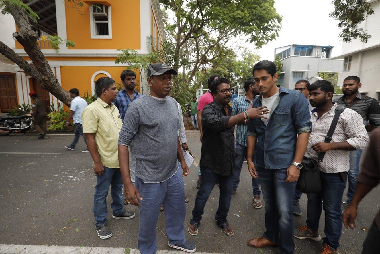 Aruvam Movie Working Stills  Tamil Gallery