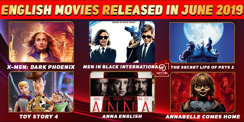 List Of English Movies Released In June 2019