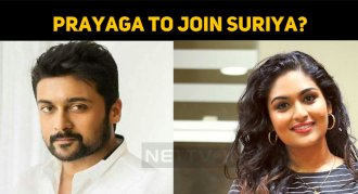 Prayaga To Join Suriya?