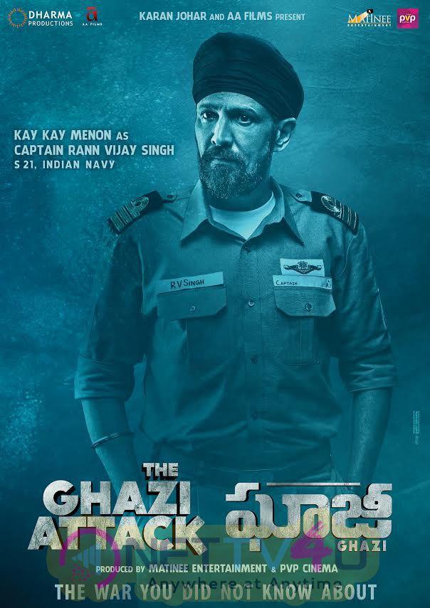 Characters Posters Of Ghazi Movie Telugu Gallery