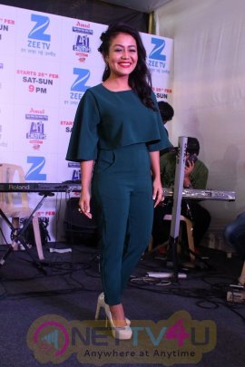 Himesh Reshammiya Neha Kakkar Javed Ali At Press Concert Of Sa Re Ga Ma Pa Li L Champs Stills Movie Press Meet Pics Latest Event Images Stills