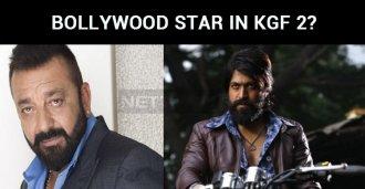 Bollywood Star In KGF 2?