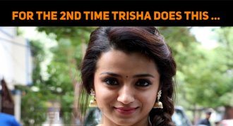 For The Second Time Trisha Does This Character…..