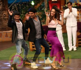 Pics Of Kapil Sharma Show With Abbas Mustan And Machine Cast Movie