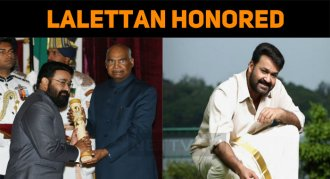 Mohanlal Receives Padma Bhushan From The Presid..