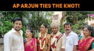 AP Arjun Ties The Knot!