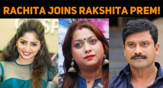 Rachita Joins Rakshita Prem!