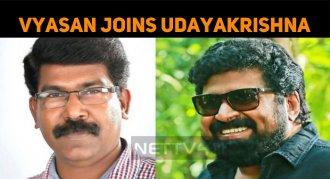 Vyasan Joins Udayakrishna!