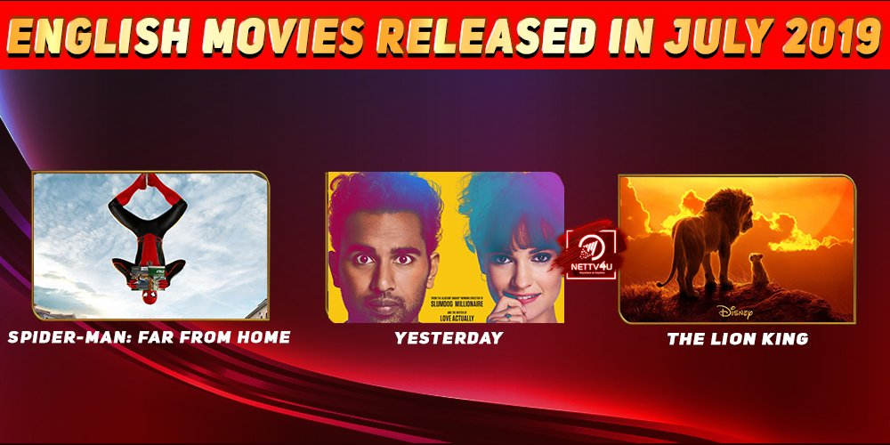 List Of English Movies Released In July 2019
