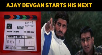 Ajay Devgan Starts His Next With Indian Superst..