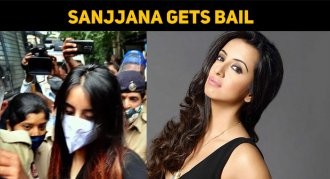 Finally… Sanjjanaa Gets Bail – Drug Scandal Cas..