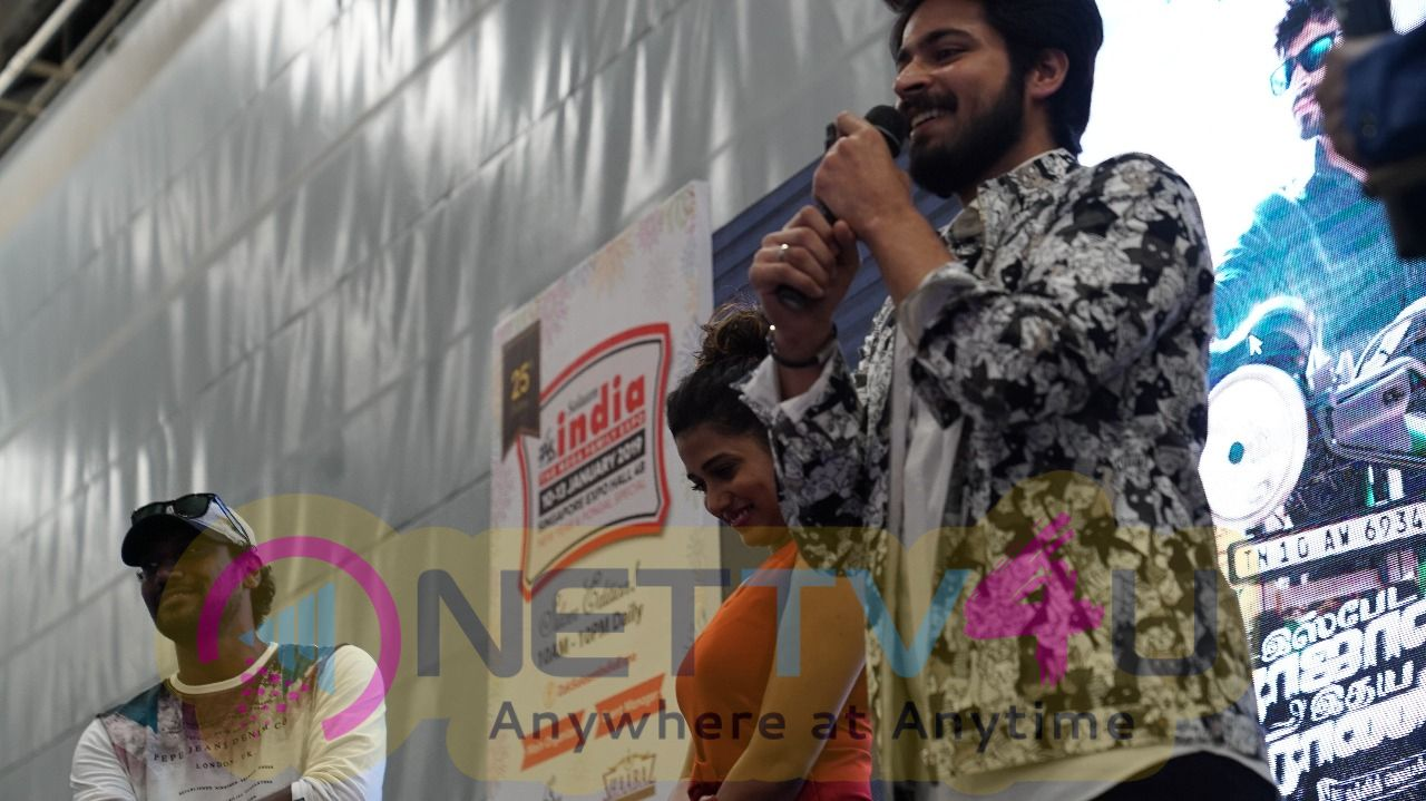 Ispade Rajavum Idhaya Raniyum Movie Kannamma Song Lyrical Video Launch Event Images Tamil Gallery