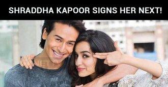 Shraddha Kapoor Signs Her Next!