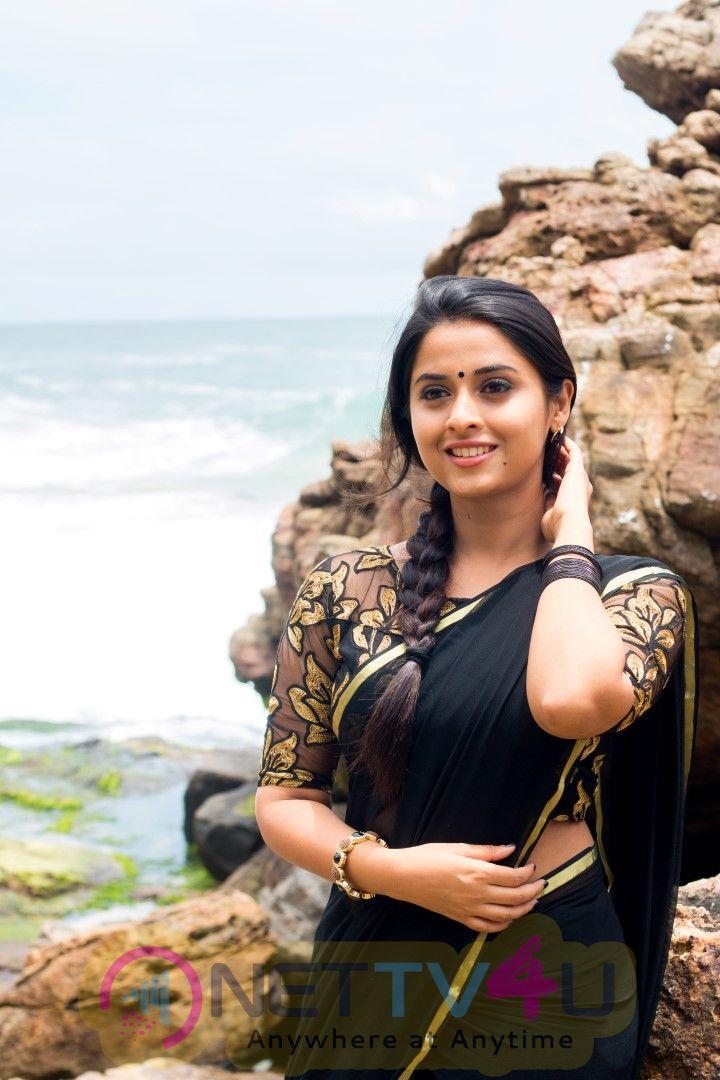 Actress Sema Arthana Interview  Stills Tamil Gallery