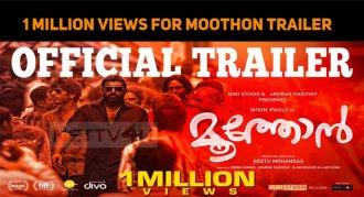 Nivin Pauly's Moothon Trailer Crossed 1 Million..