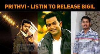 Prithviraj To Release Bigil In Kerala!