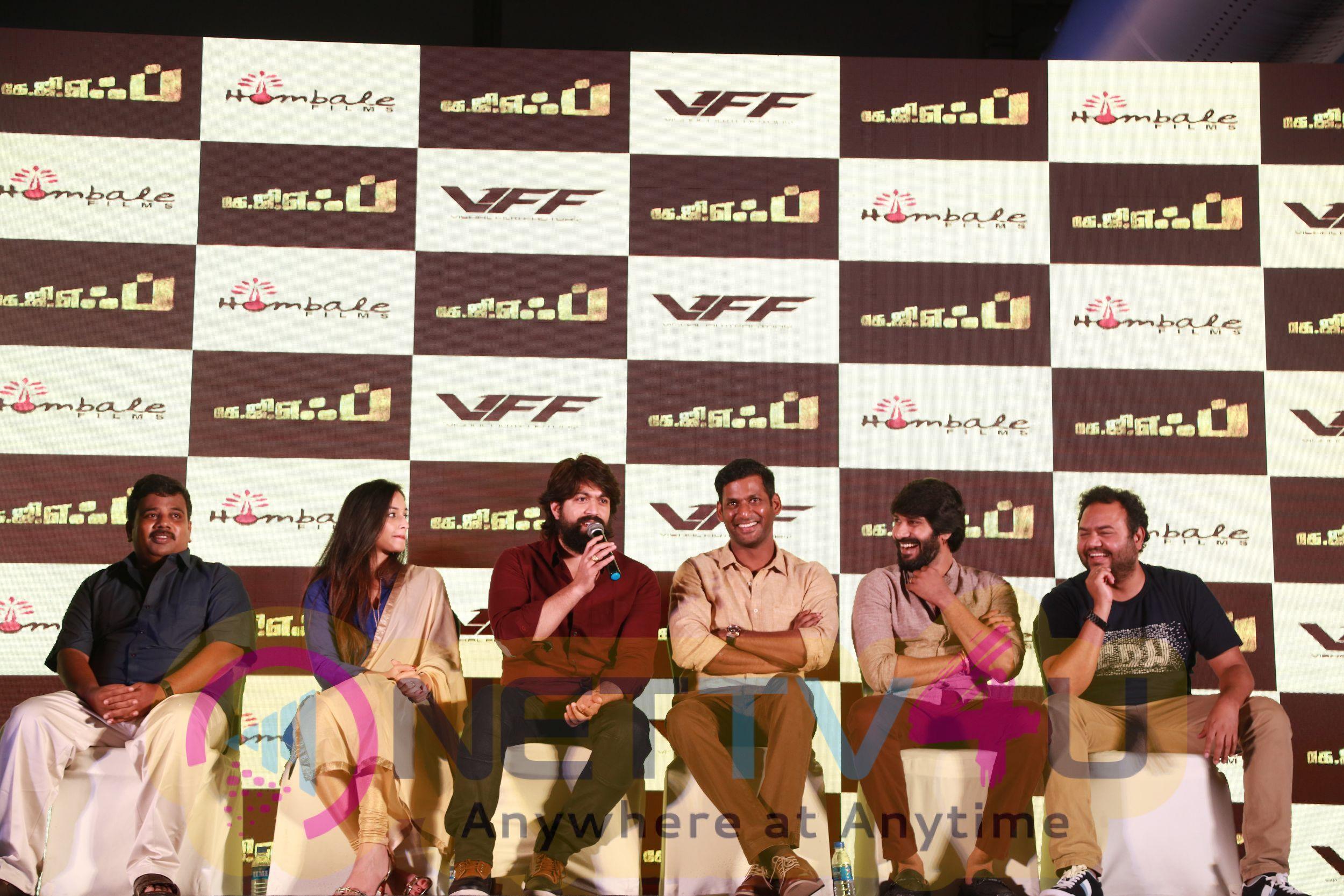 KGF Movie Press Meet Images Tamil Gallery