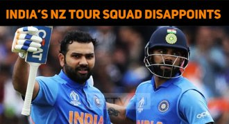 India's New Zealand Tour Squad Disappoints Cric..