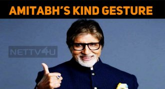 The Big B Did What He Said – Great Gesture