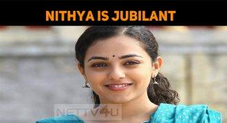 Nithya Menen Feels Happy - The Reason Is Here