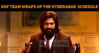 KGF Team Wraps Up The Hyderabad Shooting Schedu..