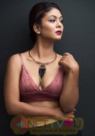 Actress Aditi Myakal Cute Stills Telugu Gallery