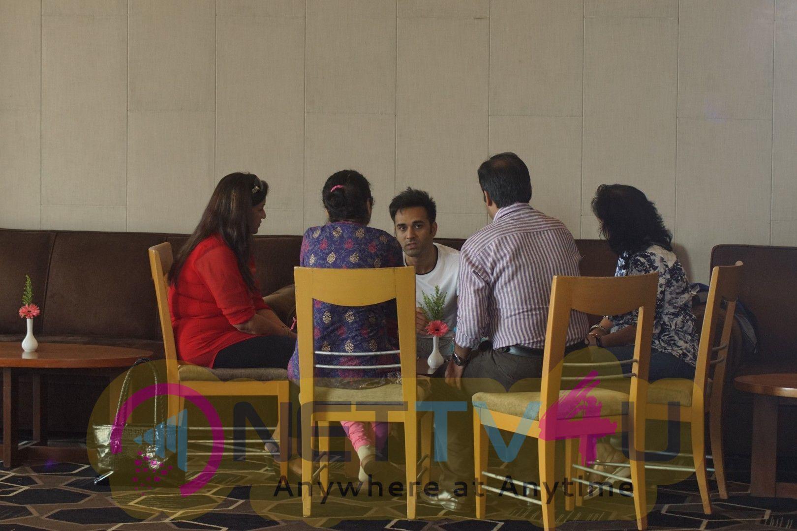 Pulkit Samrat & Kriti Kharbanda Spotted Promoting Film Veerey Ki Wedding Hindi Gallery