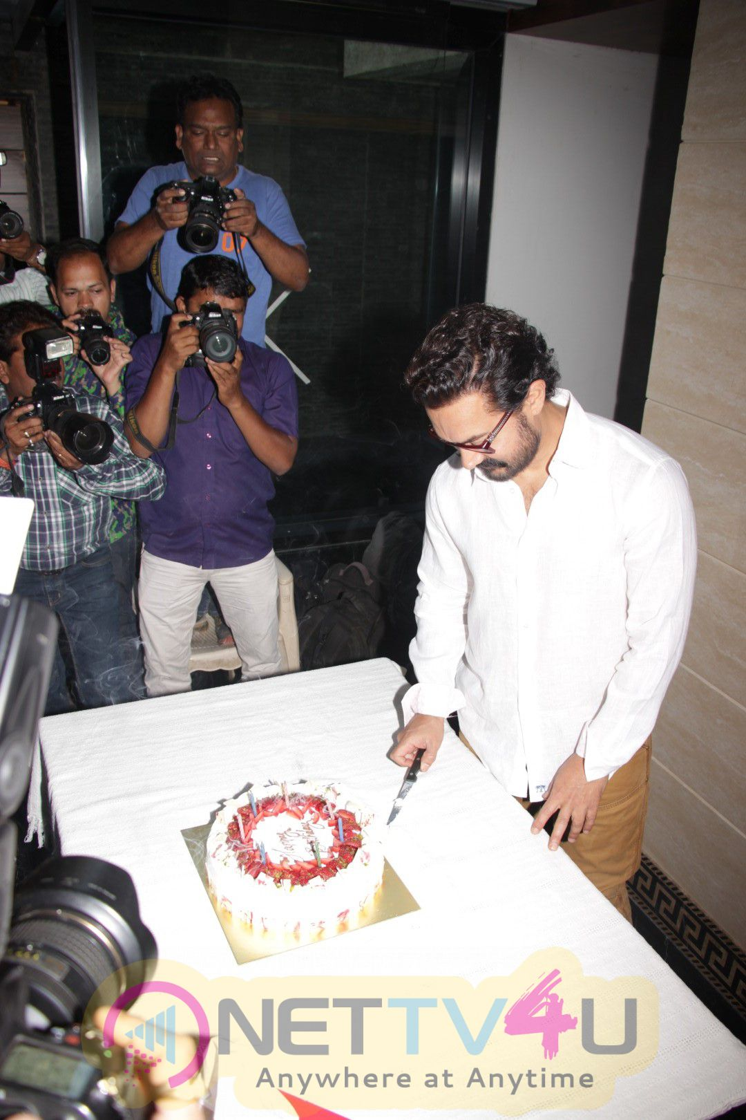 Aamir Khan Birth Day Party Celebration Lovely Photos Hindi Gallery