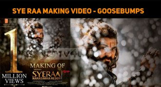 Wow! Sye Raa Making Video Creates Goosebumps!