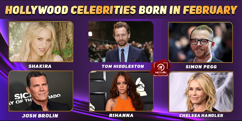 Top Hollywood Celebrities Who Were Born In February