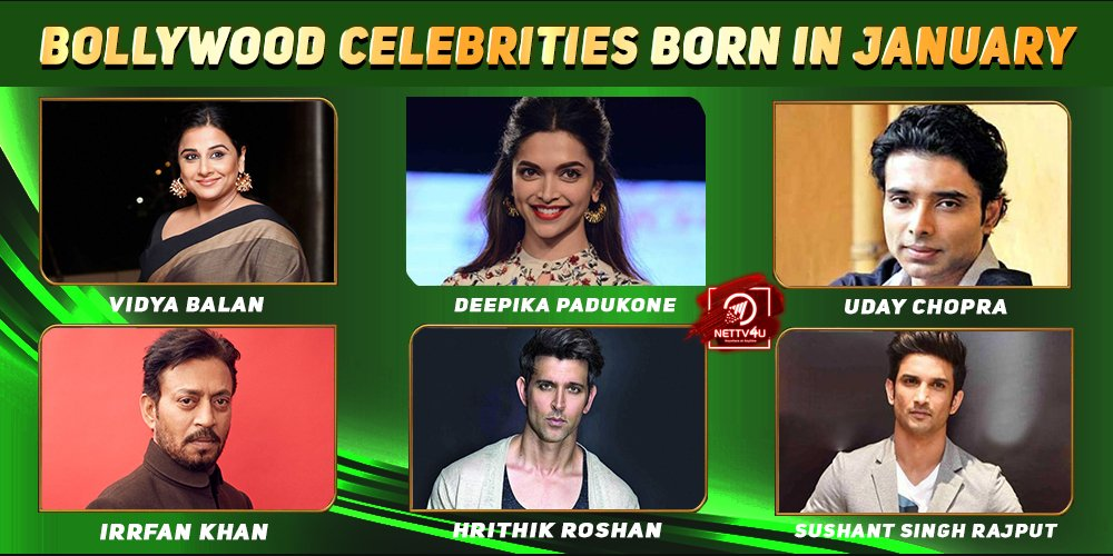 Top Bollywood Celebrities who were Born In January