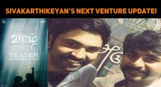 Sivakarthikeyan's Next Production Venture Updat..