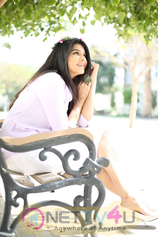 Actress Anjena Kirti Most Adorable Pics  Telugu Gallery