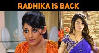 Radhika Is Back!