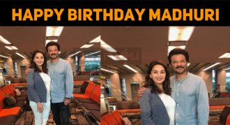 Madhuri Dixit Celebrates Her Birthday, Today!