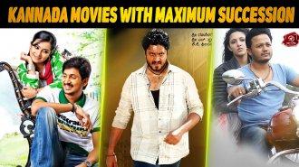Top 10 Kannada Movies With Maximum Succession