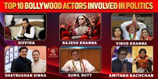 Top 10 Bollywood Actors Involved In Politics